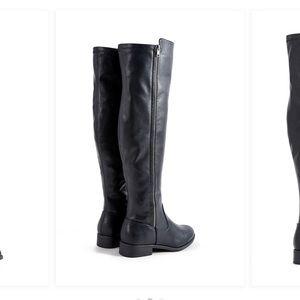 Just Fab Zinnia Thigh High Riding Boots